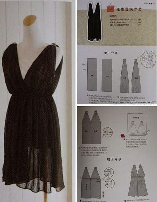 Зшити плаття самої без викрійки. Плаття в підлогу. Як зшити плаття ... 592e64cc52cc5